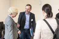 Besucher auf dem FIS-Forum.