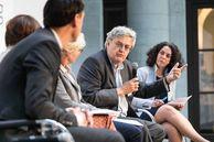 Podiumsdiskussion beim FIS-Forum.