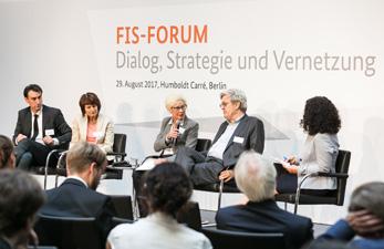 Podiumsdiskussion beim FIS-Forum 2017